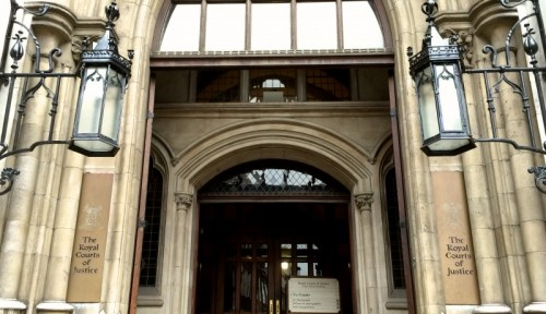 Royal Courts of Justice - Carey Street Entrance